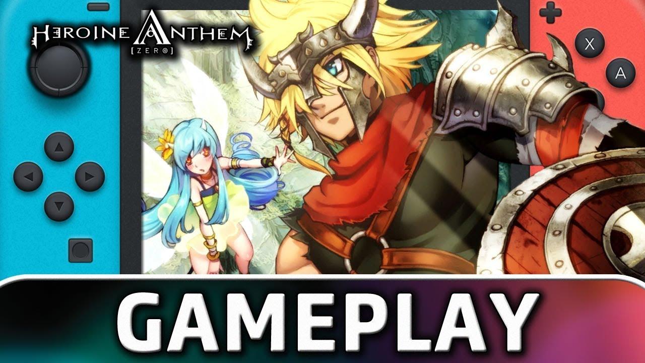 HEROINE ANTHEM ZERO | First 20 Minutes on Nintendo Switch